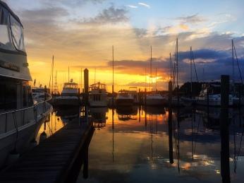 Starboard sunset