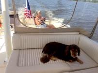 Nana & Kate cruising