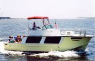 "The 1977 30-foot Cargile Cutter Cruiser known as ""SunSmiles"""