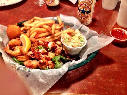 TW Grahams fried shrimp