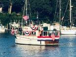 Lead boat July 4th Parade!