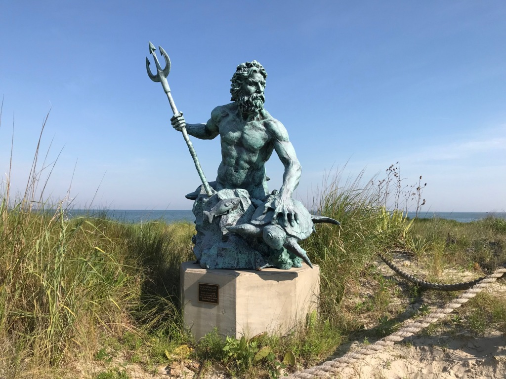 NEPTUNE STATUE AT CAPE CHARLES