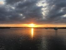 Sunday sunrise by Carolyn Trammell